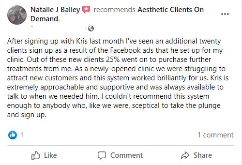 Natalie Bailey Testimonial WV
